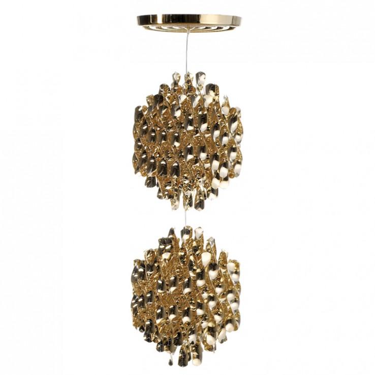 Lámpara Spiral Gold SP2