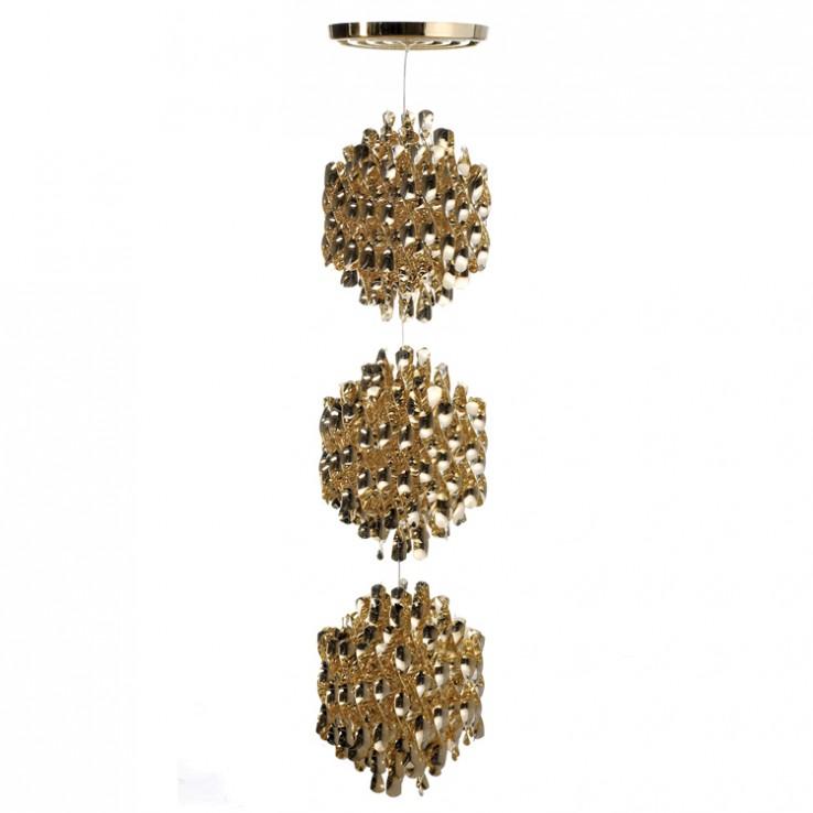 Lámpara Spiral Gold SP3