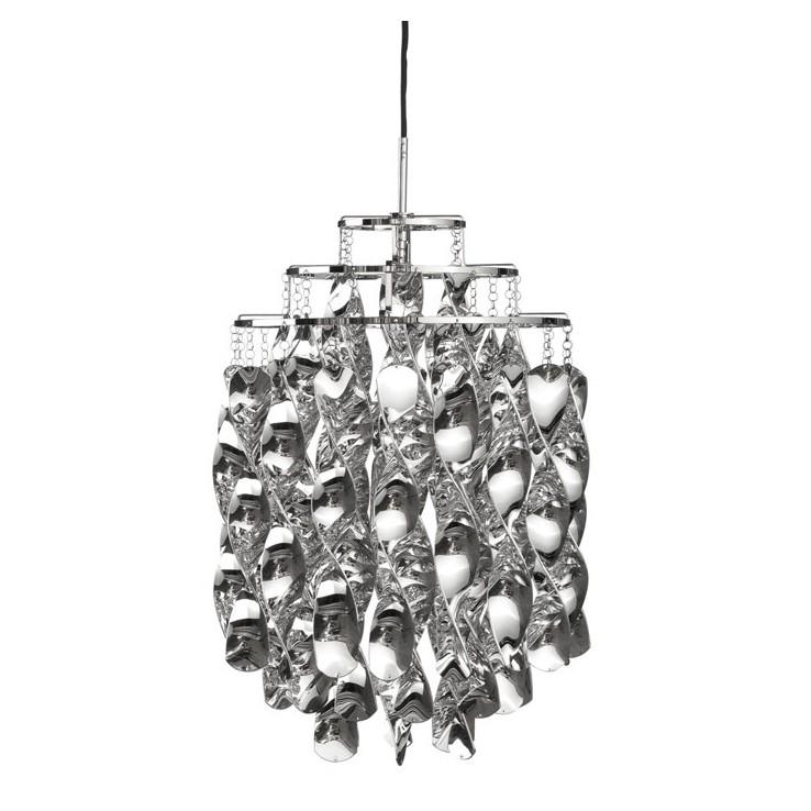 Lámpara Spiral Silver Mini