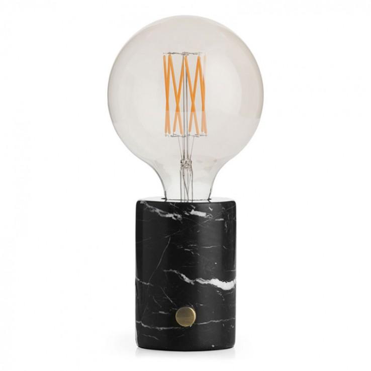 Lámpara Orbis Mármol Negro ER