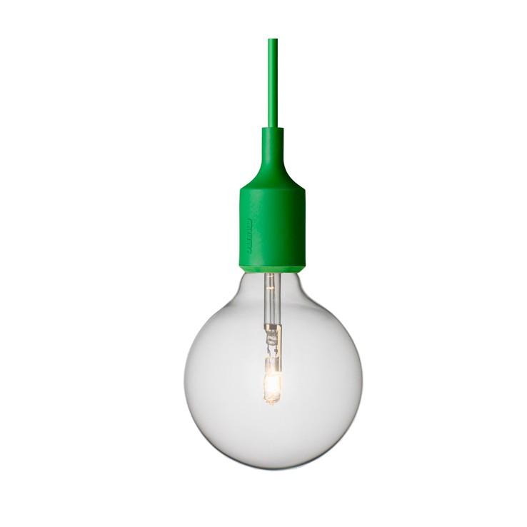 Lámpara E27 Verde ER