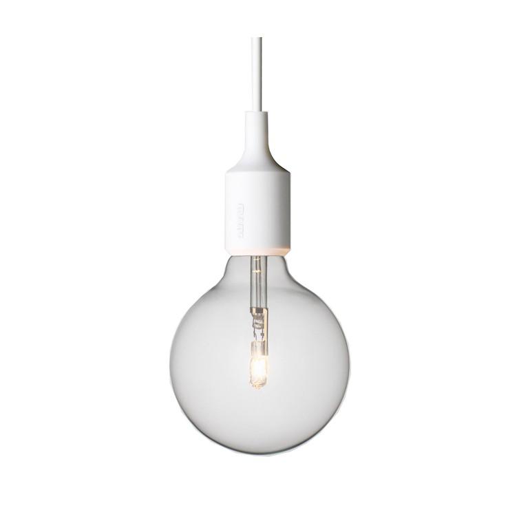 Lámpara E27 Blanco ER