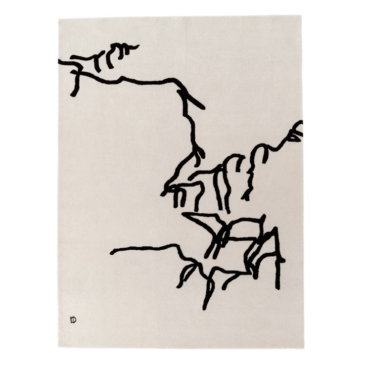 Alfombra Dibujo Tinta 1975