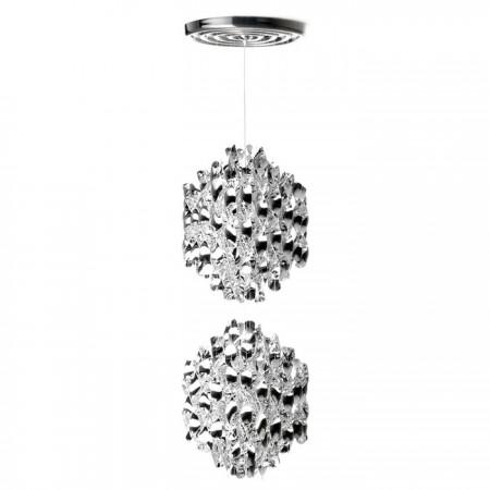 Lámpara Spiral Silver SP2