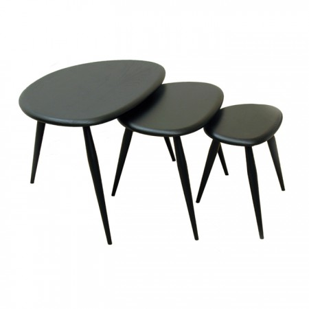 Mesa 354 Nest Of Three Tables Lacado