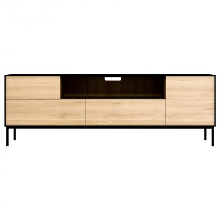 Mueble Tv Blackbird Roble Negro