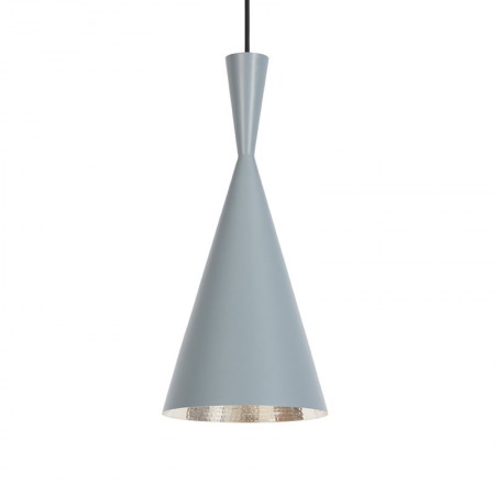 Lámpara Beat Tall Pendant Gris