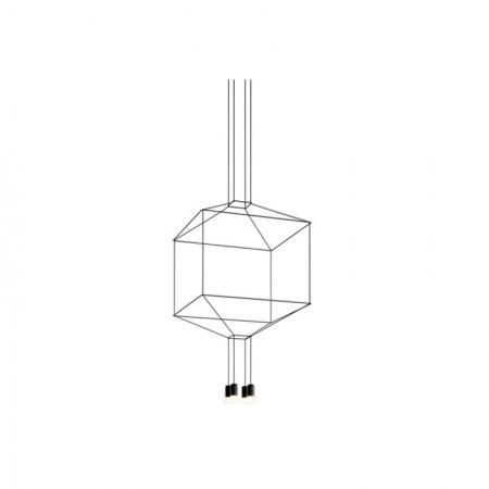 Lámpara Wireflow Volumetric 4 Leds