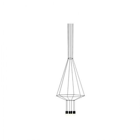 Lámpara Wireflow Volumetric 6 Leds