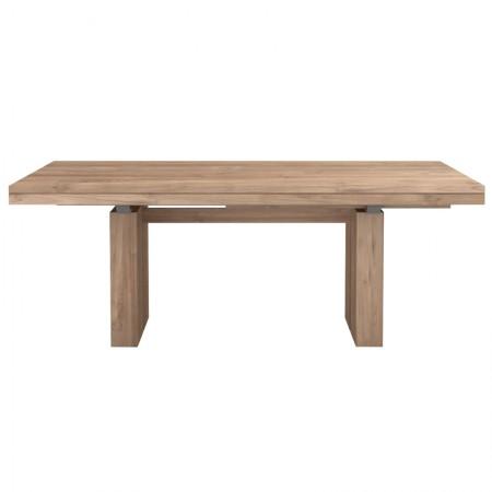 Teak Double Extendable Table