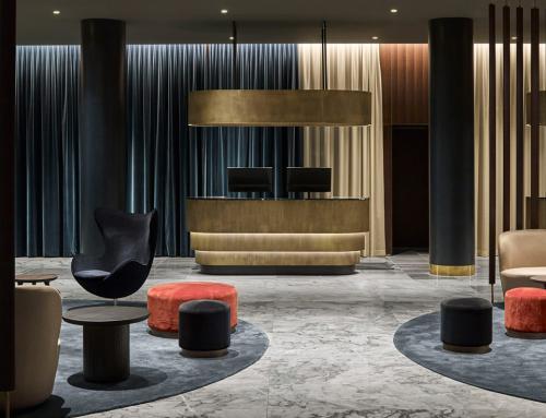Space Copenhagen, renuevan el Radisson Blu Royal Hotel de Arne Jacobsen