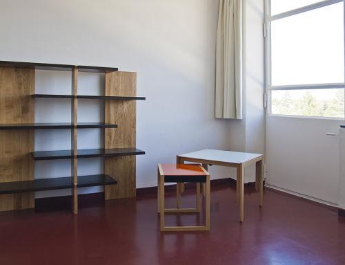 Duerme como un estudiante de la Bauhaus