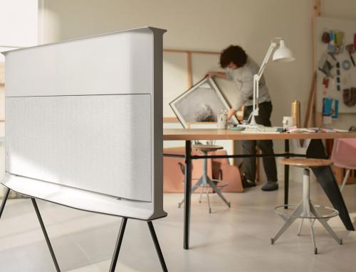 Samsung relanza Serif TV
