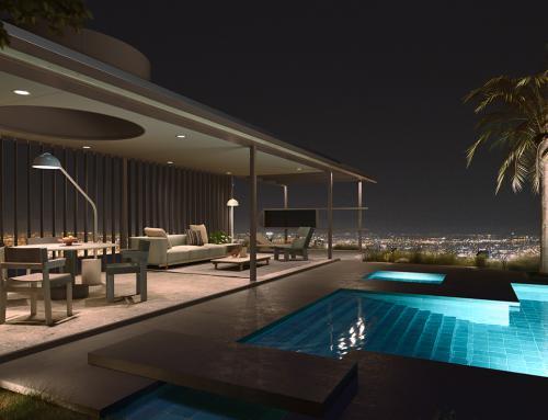Kettal recupera el penthouse de VDL de Richard Neutra