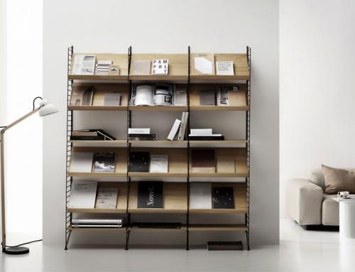 StringSystem: un diseño que reclama espacio en todas las habitaciones de la casa