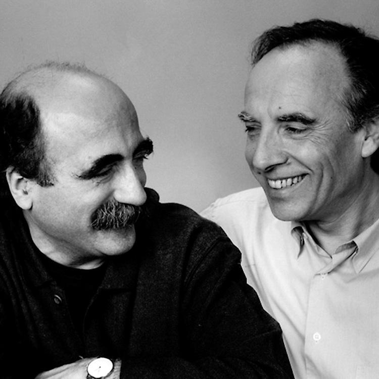 Josep Maria Massana y Josep Maria Tremoleda