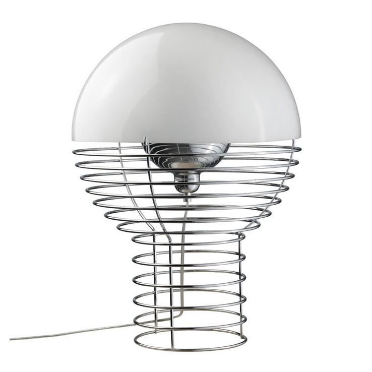 Lámpara Wire Table Blanco