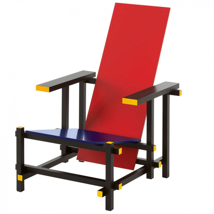 Sillón 635 Red and Blue