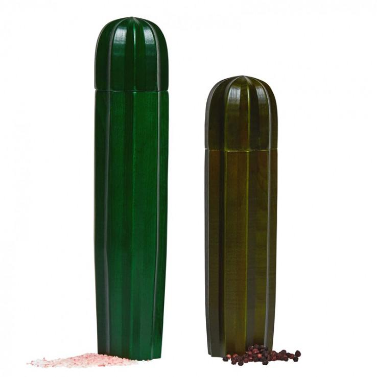 Sal y Pimienta Cacti Wood Green ER