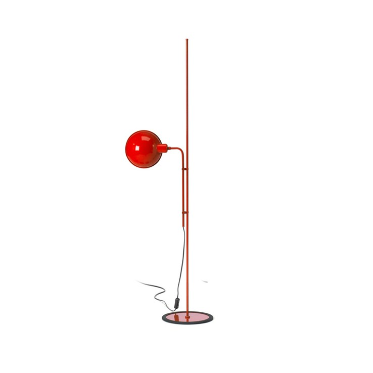 Lámpara Funiculí Floor Rojo ER