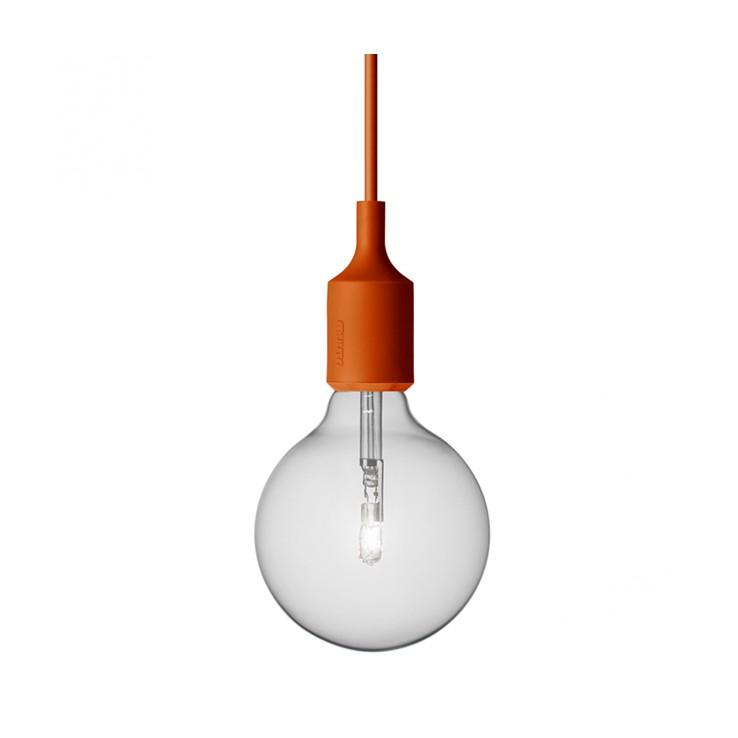 Lámpara E27 Naranja Halógena ER