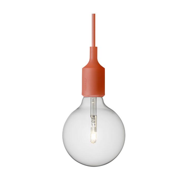 Lámpara E27 Rojo Halógena ER