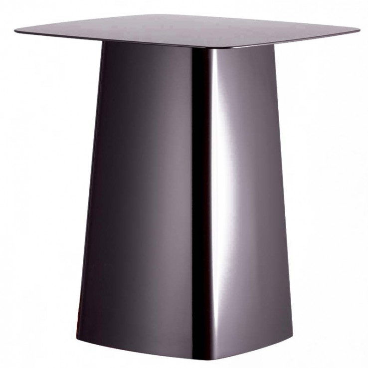 Mesa Auxiliar Metal Side Table