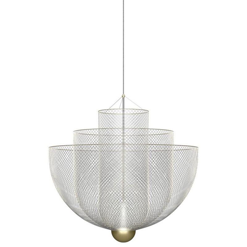 Lmpara meshmatics chandelier aloadofball Choice Image