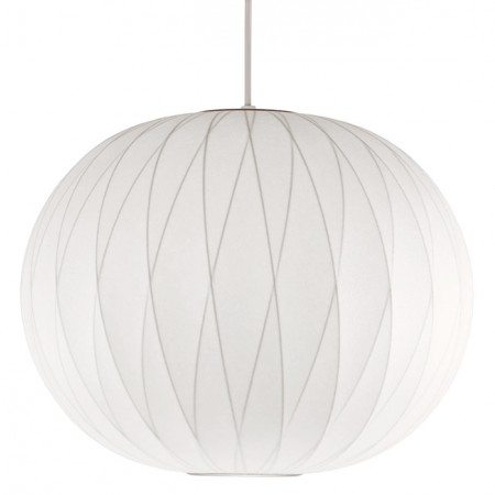Lámpara Nelson Ball Crisscross Bubble Pendant