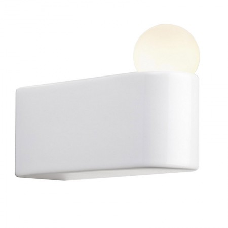 Lámpara White Porcelain Series Wall D2