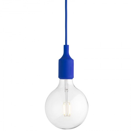 Lámpara E27 LED Azul ER