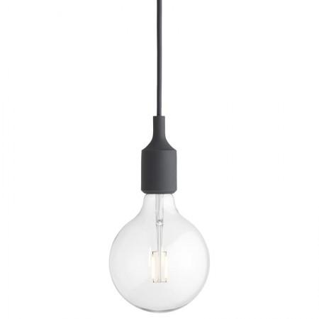 Lámpara E27 Gris Oscuro LED ER