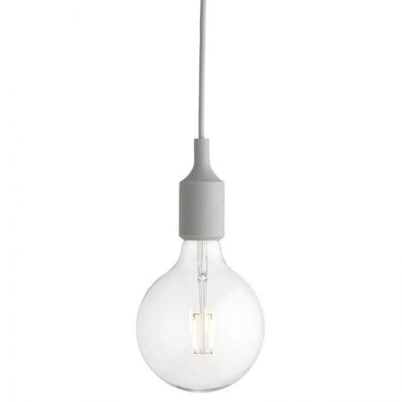 Lámpara E27 Gris Claro LED ER