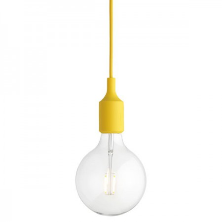 Lámpara E27 Amarillo LED ER