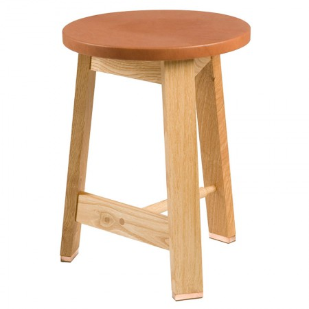 Taburete 441S Stool Leather