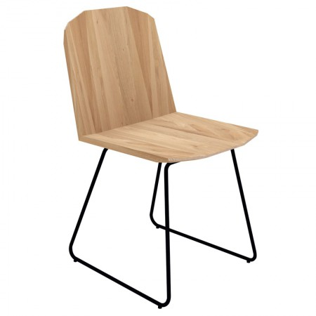 Silla Facette Roble