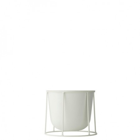 Macetero Wire Pot Blanco S ER
