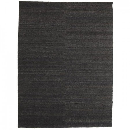 Alfombra Natural Earth Negro