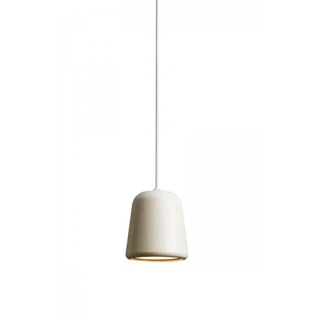 Lámpara Material Pendant Light Grey Concrete