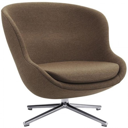 Sillón Hyg Low Swivel Aluminio