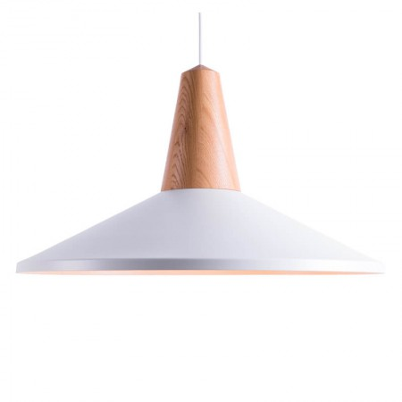 Lámpara Eikon Shell Blanco
