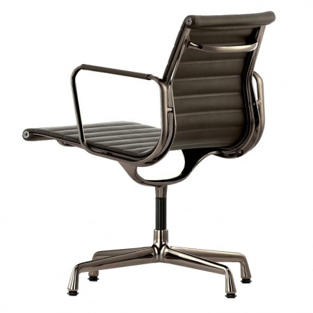 Silla Aluminium Chair EA 107 / 108 Piel