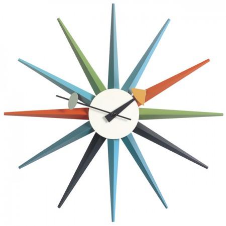 Reloj Sunburst Multicolor ER