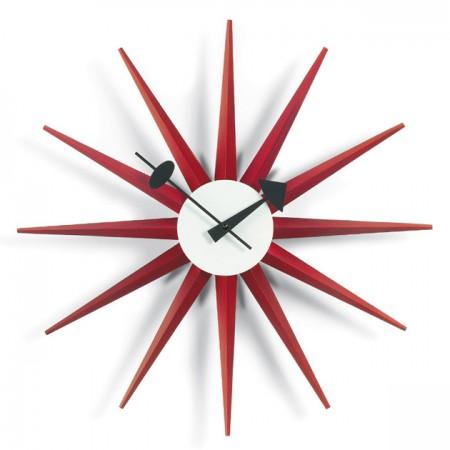 Reloj Sunburst Rojo ER