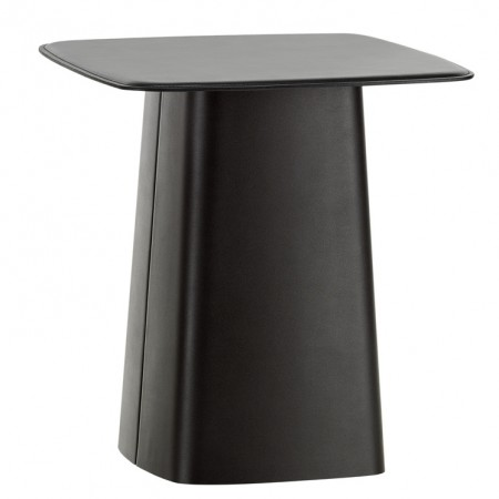 Mesa Leather Side Table