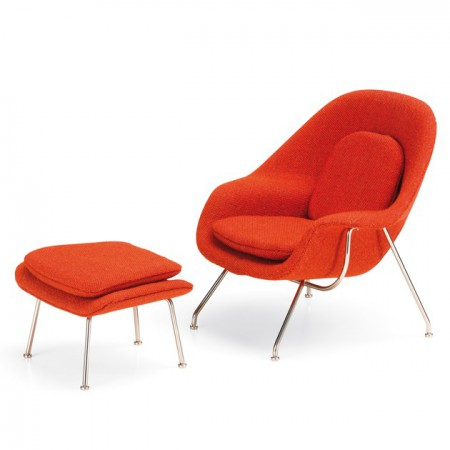 Miniatura Womb Chair & Ottoman