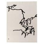 Alfombra Dibujo Tinta 1957
