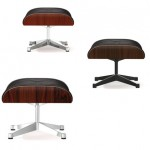 Ottoman Lounge Chair Chocolate