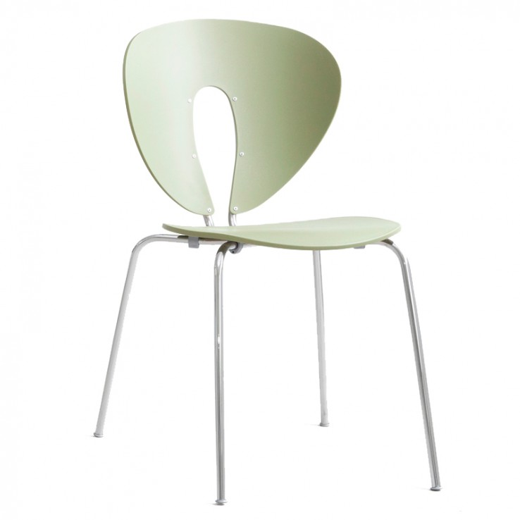 Globus Chair Chrome Polypropylene
