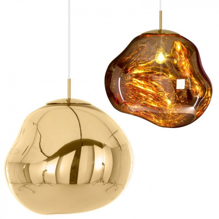 Melt Gold Lamp Ideas